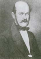 After Hungarian physician Ignaz Semmelweis (1818-1865) had the physicians at a Vienna, Austria, hospital wash their hands regularly with an antiseptic, the hospital's mortality rate fell dramatically. Library of Congress